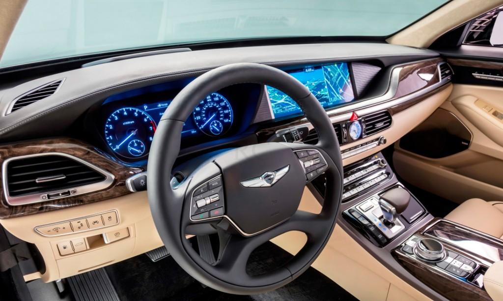 Новая Hyundai Genesis G цена фото видео
