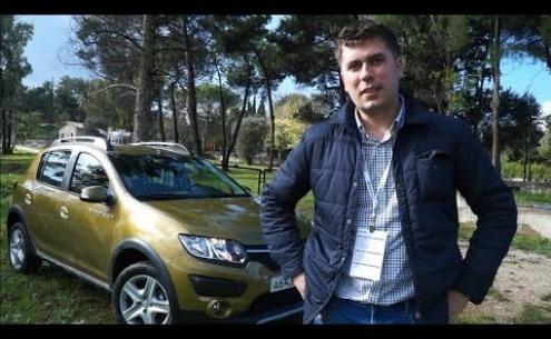 Embedded thumbnail for Тест драйв Renault Stepway видео смотреть онлайн