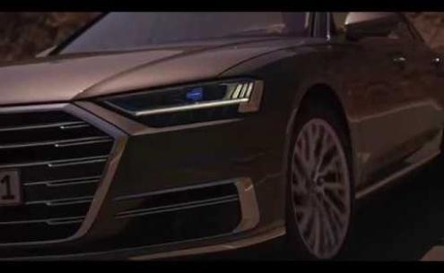 Embedded thumbnail for Тест-драйвы Audi A8 IV поколения в кузове D5 2017 года