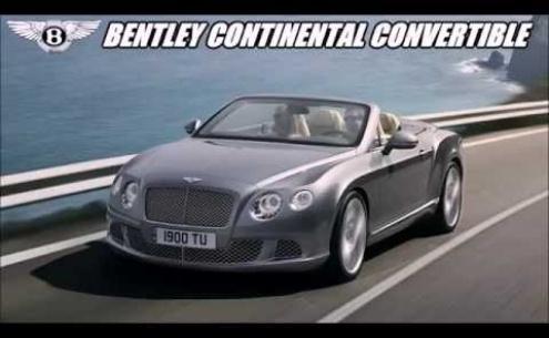 Embedded thumbnail for Длительный тест-драйв Bentley Continental GTC кабриолет 2016 года