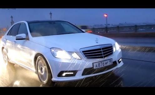 Embedded thumbnail for Тест-драйвы Mercedes E-класса W212 2009-2013