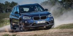 BMW X1 в движении