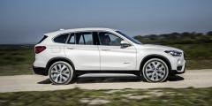 Белый BMW X1