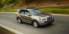 Subaru Forester в движении