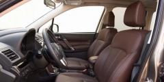 Subaru Forester — салон крупным планом