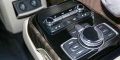 Hyundai Genesis - консоль
