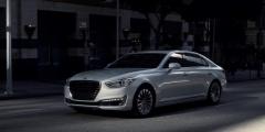 Hyundai Genesis - официальное фото