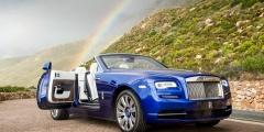 Открытие двери Rolls-Royce Dawn