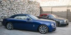 Rolls-Royce Dawn - синий и серый