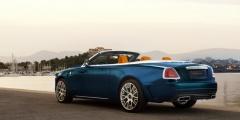 Rolls-Royce Dawn в движении