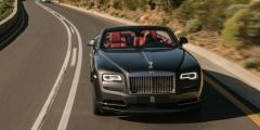 Rolls-Royce Dawn на трассе
