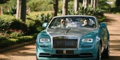 Rolls-Royce Dawn - вид спереди