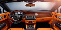 Rolls-Royce Dawn вид интерьера