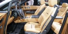 Светлый салон Rolls-Royce Dawn