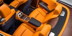 Задние сиденья Rolls-Royce Dawn
