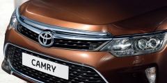 Toyota Camry - перед крупным планом