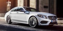 Mercedes-Benz C250d в городе