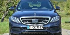 Mercedes-Benz C250d — вид спереди