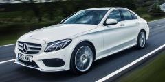 Mercedes-Benz C250d в движении