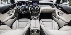 Mercedes-Benz C250d — салон