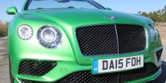 Зелёный Bentley Continental GTC