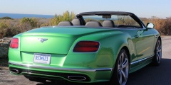 Bentley Continental GTC — вид сзади