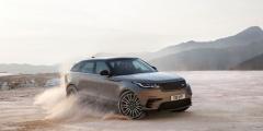 Range Rover Velar в движении