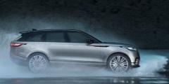 Range Rover Velar под дождём