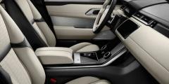 Range Rover Velar - белый интерьер салона