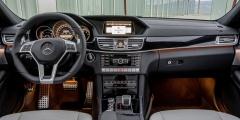 Mercedes E-класс IV - салон