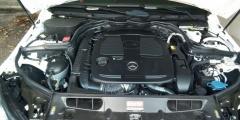 Mercedes E-класс - под капотом