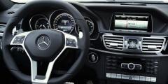 Mercedes E-класс IV - панель приборов